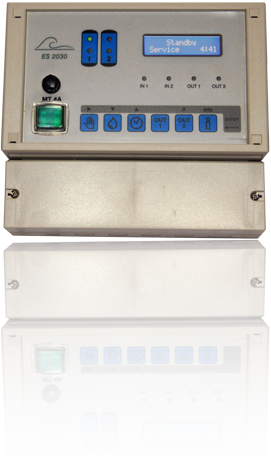 ES2030SV a filter/softener controller for control of softener or filtering plants (through solenoid valves) and suitable for single and double column installations