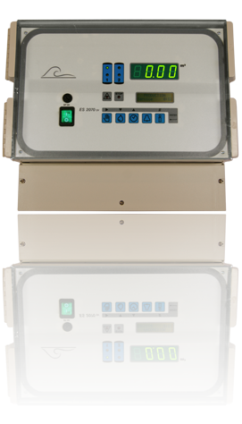 ES2070SV water softener(filtration) controller for monitoring and control of softener or filtering plants through solenoid valves