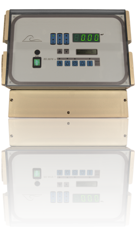ES2070TV water softener controller for softner plants. Suitable for simplex, duplex and triplex column installations with control valves or pilot valves
