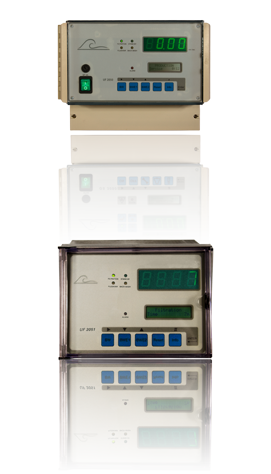 "UF2050/2051 a ultrafiltration controller with eleven possible stages a ""top/bottom"" mode and five inputs"